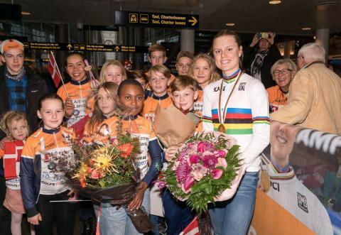 Regnbuetrøjen kom hjem: Danmark var tredjebedst