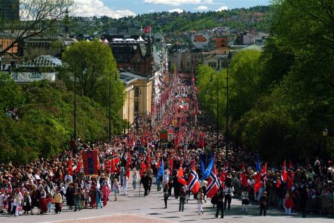 Scandinavia's biggest street party takes off in Oslo 17th May