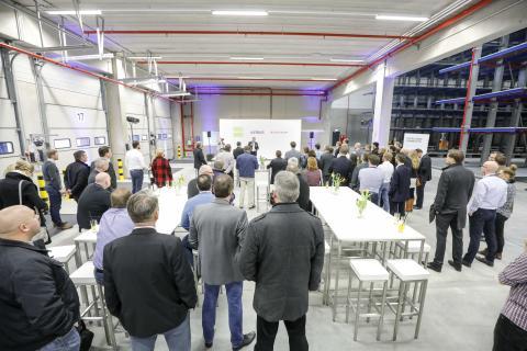 Satair Group Kit Factory opening