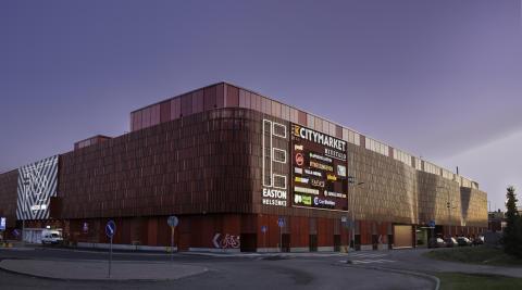 Lexters unika ljuddesign för Keskos nya handelsplats Easton Helsinki