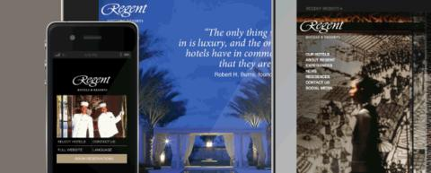 REGENT HOTELS LAUNCHES MOBILE WEBSITE IN PARTNERSHIP WITH NUCLEUS