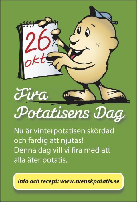 Potatisens dag 26 oktober