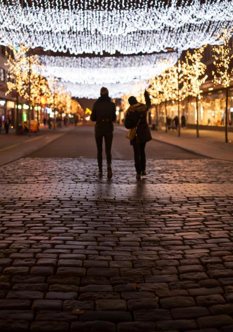 Guidad julljusrunda i city