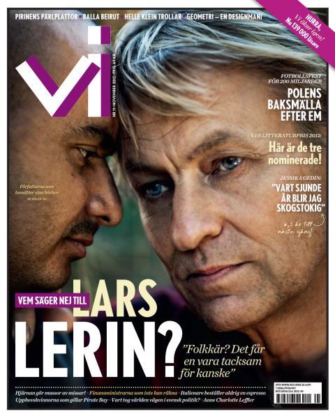 Omslag Tidningen Vi nr 11 2012