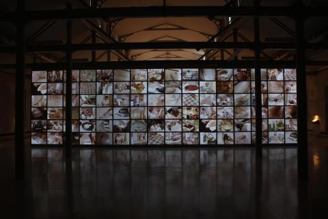 """Installationsbild """"Arbete i hemmet"""" Petra Hultman1"""