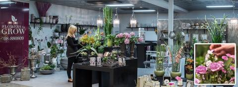Flowers by Grow - En del av Airport City Stockholm