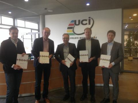 I dag ble VM-søknaden overlevert til UCI