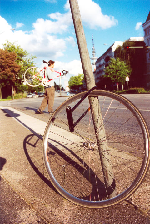 Wenn das Fahrrad Beine kriegt