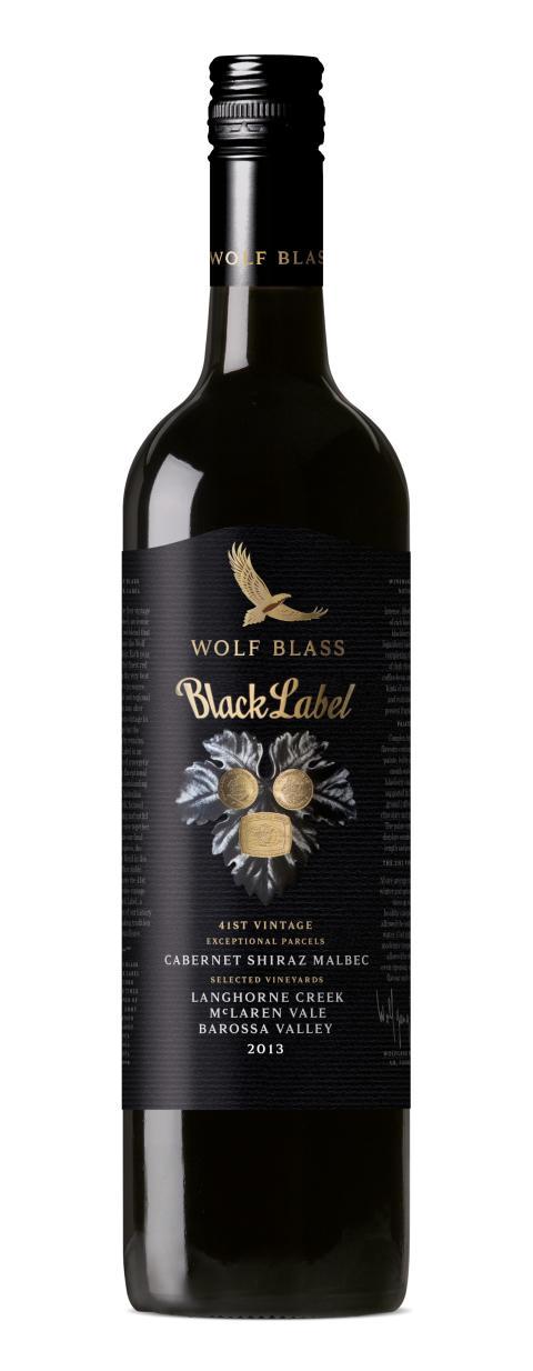 Wolf Blass Black Label 2013