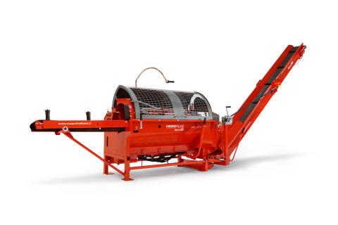 Trejon och HakkiPilke lanserar ny vedmaskin