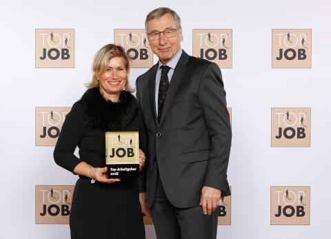 TOP JOB Preisverleihung mit Barbara Höfel und Wolfgang Clement