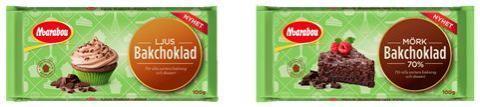 Marabou lanserar bakchoklad