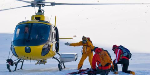 Världspremiär! Riksgränsen erbjuder helikopterskidåkning i midnattssol