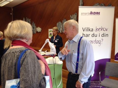Smarta äldre tillsammans med Örebro kommun och Sveriges bästa äldreomsorg på Seniorfestivalen!