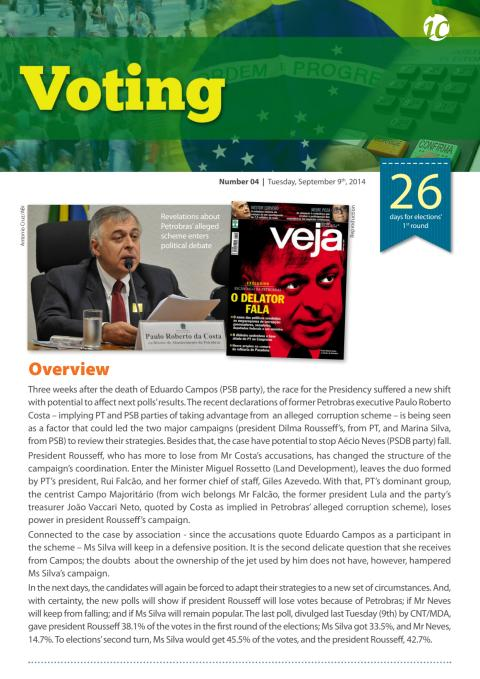 Voting #4 - Elections in Brazil 2014