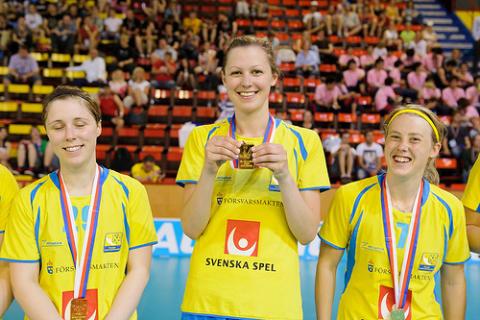 Sara Bergström från Linköping IBK vann internationell utmärkelse