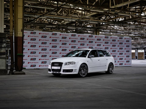 Audi RS 4 Avant (B7), ibishvid