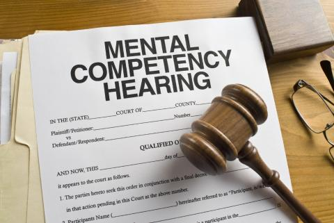 Changing legal perceptions of mental disorders in defendants