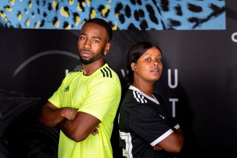 Årets tyngsta möte: Team Jireel möter Team Imenella i fotbollsmatch som streamas på Youtube av adidas