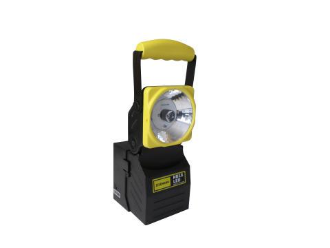 Nyhet! HB15 LED Handlampa med nödljusfunktion för 12-24 V eller 230 V laddning!