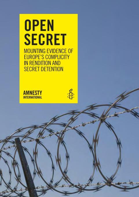 EU/USA  Offren för CIA:s olagliga överföringar och hemliga fängelser måste få rättvisa