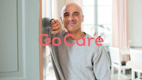 Bakgrundsbild PPT Go Care_man