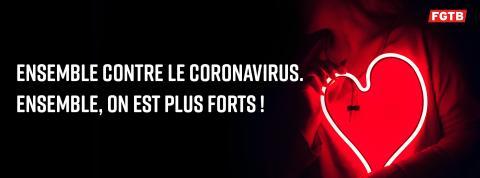La FGTB exige des mesures complémentaires afin de protéger au mieux les travailleurs durant la crise du coronavirus