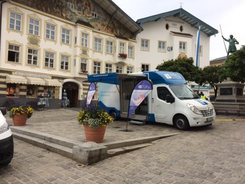 Beratungsmobil der Unabhängigen Patientenberatung kommt am 06. Februar nach Bad Tölz.