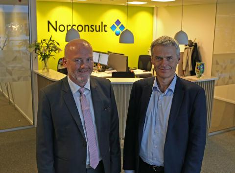 Norconsult i Stavanger flyttet inn i nye lokaler