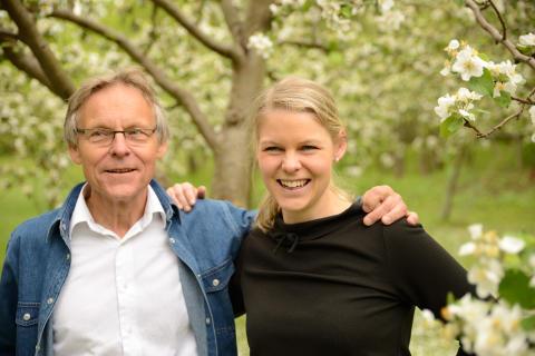 Julius Malmström och Emelie Löfmark