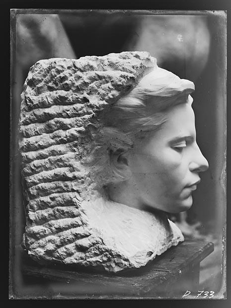 Gustav Vigeland Kvinneportrett (1908)