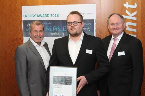 Jungakademiker Lukas Diermann aus Bad Wünnenberg erhält Energy Award 2018