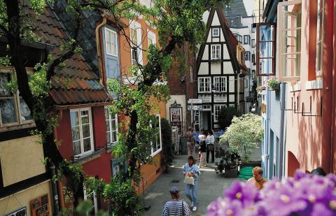 Bremen, bydel Schnoor