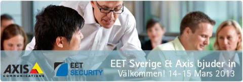 EET Security presenterar: skaffa dig överlägsen kunskap och expertis inom IP-baserade videolösningar