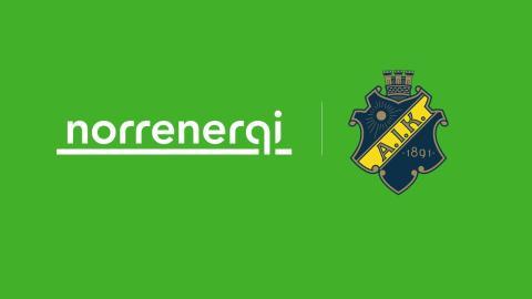 AIK Fotboll och Norrenergi i nytt samarbete
