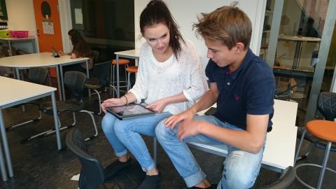 Elever utvecklar framtidens appar.