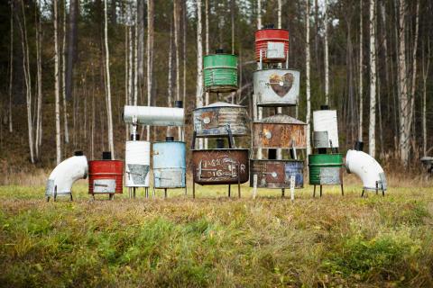 kaminer av Anton Ciurar och Anton Clopotar, foto Johannes Samuelsson
