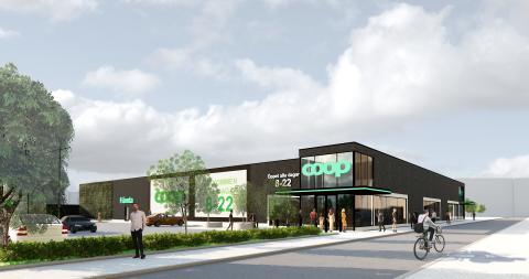 Midroc tecknar avtal med Coop i Stationsstaden, Kävlinge