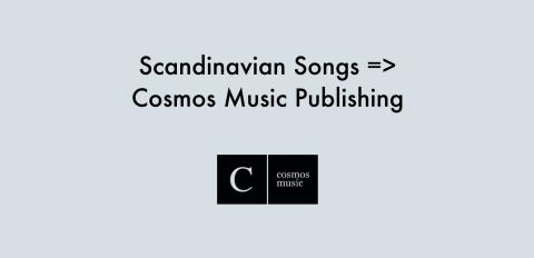 Scandinavian Songs byter namn till Cosmos Music Publishing