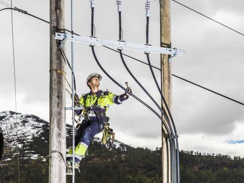 Svorka er ansvarlige for strømnettet i Surnadal, Rindal og Halsa.