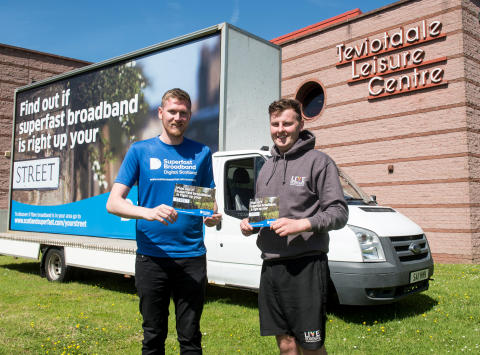 Digital Scotland Superfast Broadband reaches more of the Scottish Borders