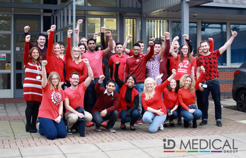 ID Medical turns red to join the UK's fight for every heartbeat