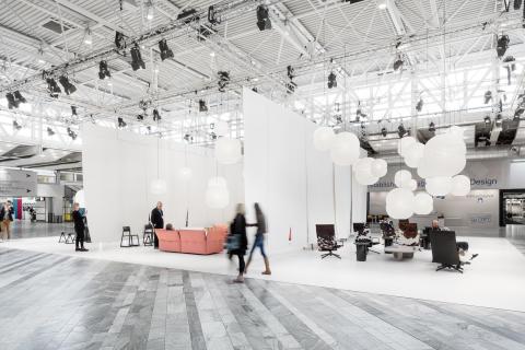 Var fjärde besökare från utlandet på Stockholm Furniture & Light Fair