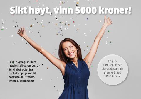 Sikt høyt, vinn 5000 kroner!