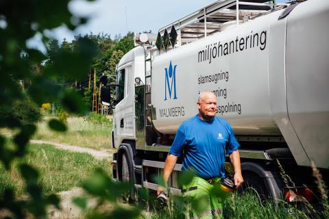 Chaufför/operatör till Malmberg Miljöhantering