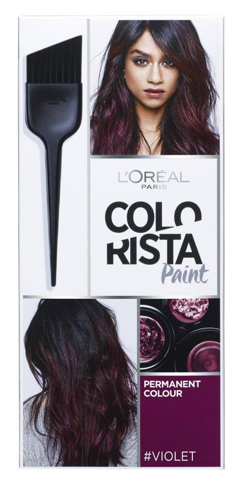 L'Oréal Paris Colorista Hairpaint #Violet kestoväri
