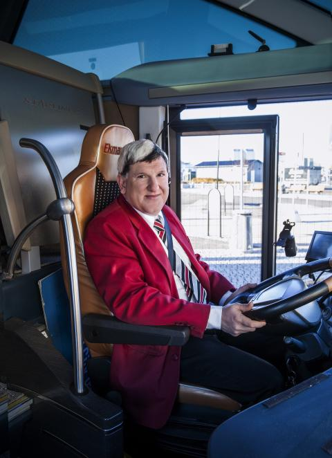 Johan Ekman, Grundare och VD, EkmanBuss Flexibussitet och EkmanResor 1st Bussness Class
