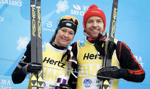 Gjerdalen ja Johansson-Norgren Visma Alp Trophyn voittoon