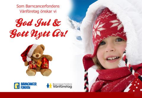Q-Park fortsätter stötta Barncancerfonden julen 2015