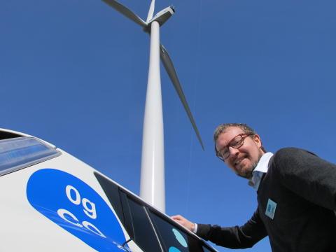Invigning vindkraft Össjö 5